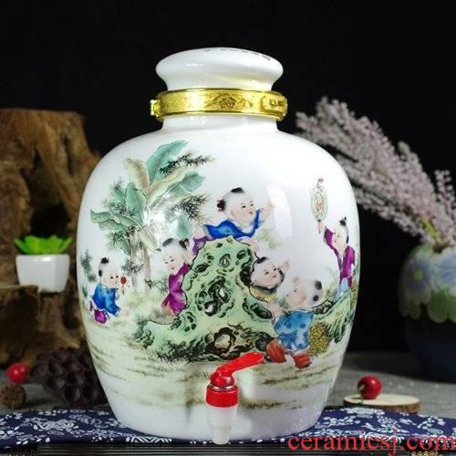 20 jins 30 jins of jingdezhen ceramic jar jar it how to lock the lad mercifully jars