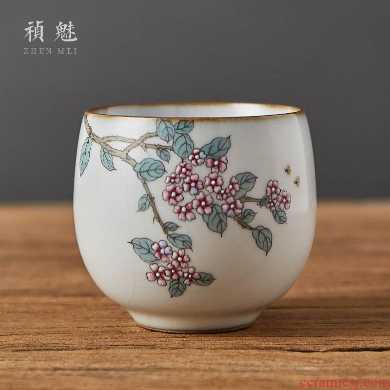 Shot incarnate the whole hand your up open piece of jingdezhen ceramic cups kung fu tea master sample tea cup cup personal single CPU