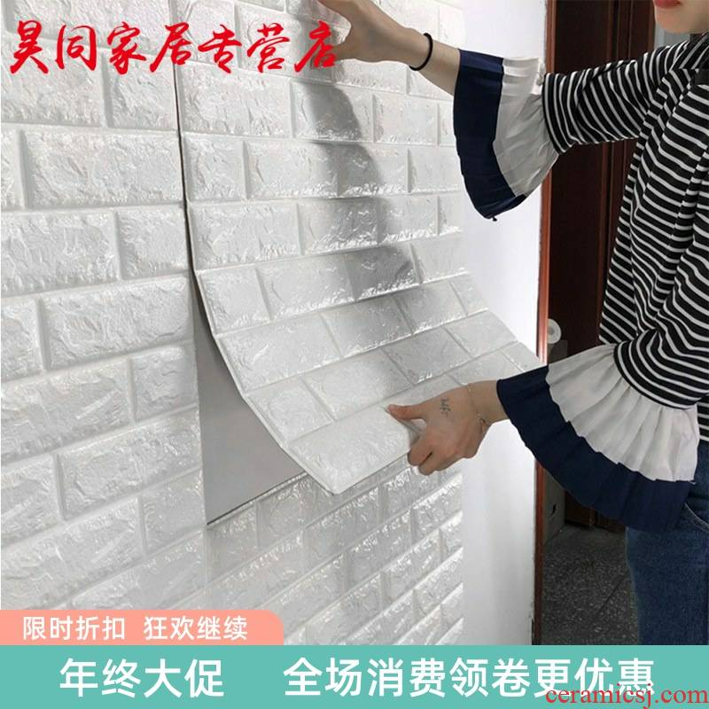 Red walls bedroom wall imitation ceramic tile which wallpaper adhesive ceramic tile stick bar formaldehyde - free sapphire shops restaurants