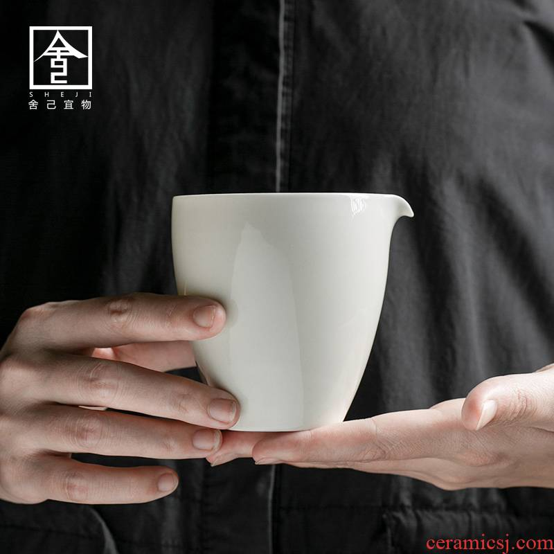 """The Self - """"appropriate plant ash content of jingdezhen ceramic fair keller manually points of tea and a cup of tea. A single tea Japanese sea"""