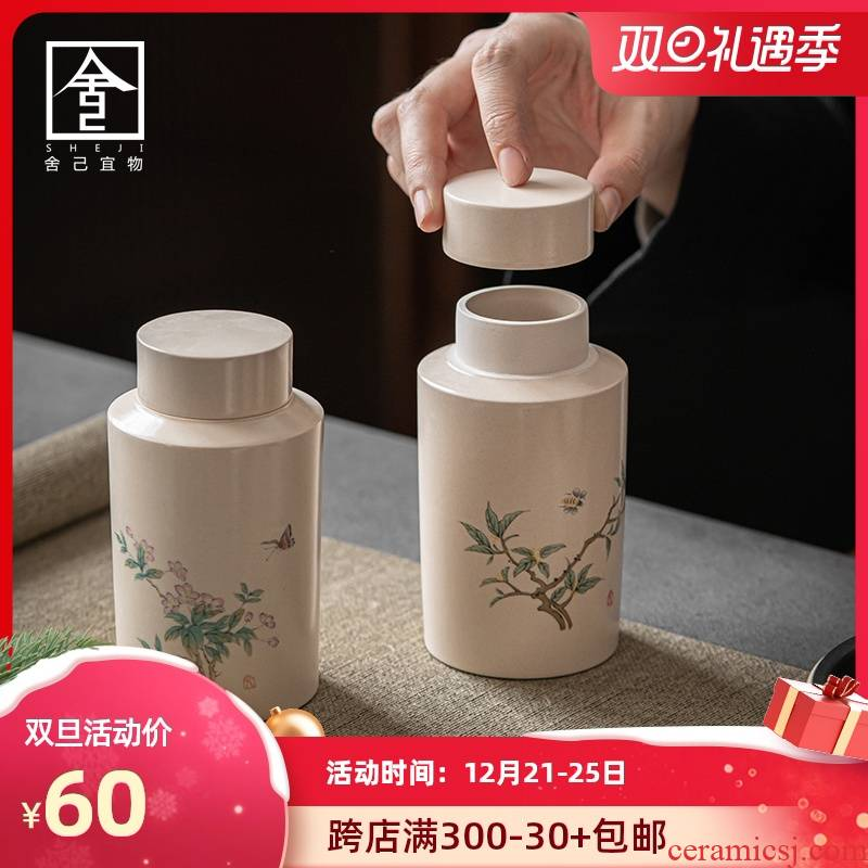 "The Self - ""appropriate content and receives caddy fixings POTS of jingdezhen vintage Japanese ceramic small POTS make tea tea art"