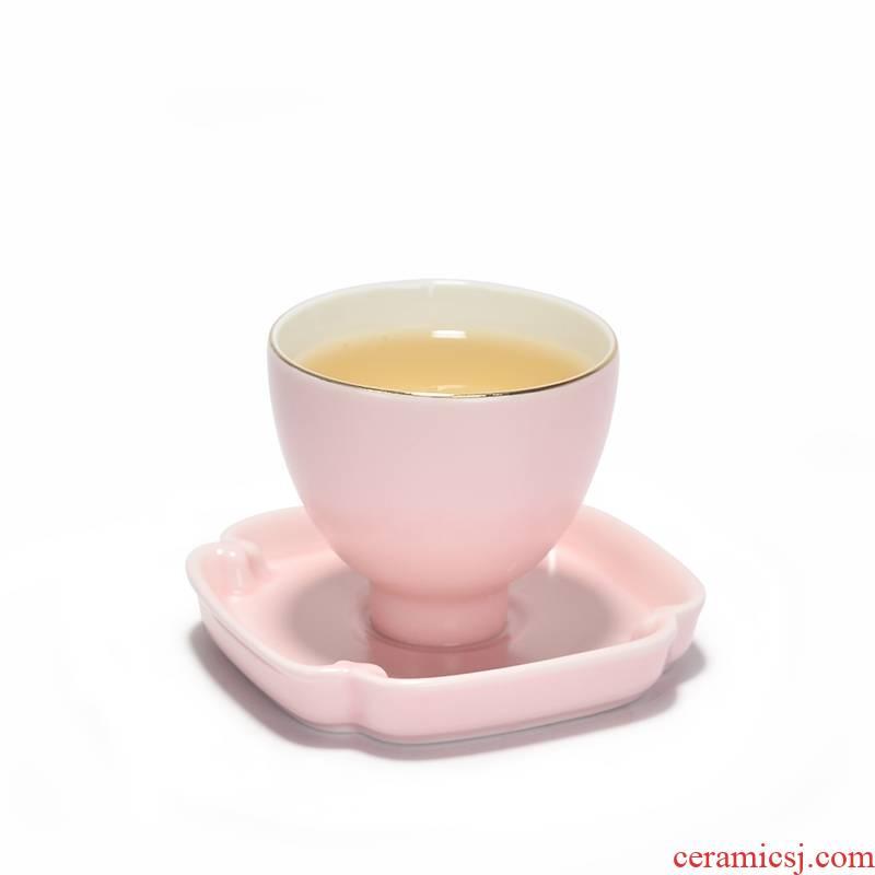 Tea accessories zero with cup holder kunfu Tea Tea set as pad saucer ceramic keller cup mat