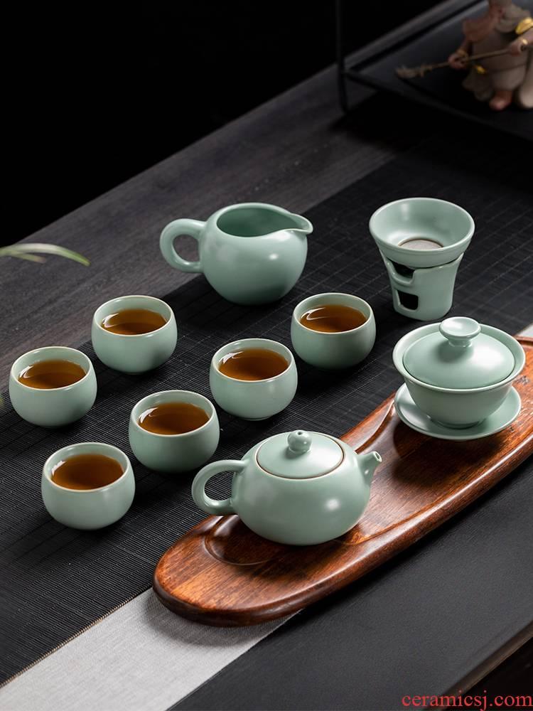 Your up tea set piece suit household jingdezhen tea set Your porcelain to leave but have a complete set of kung fu tea teapot teacup