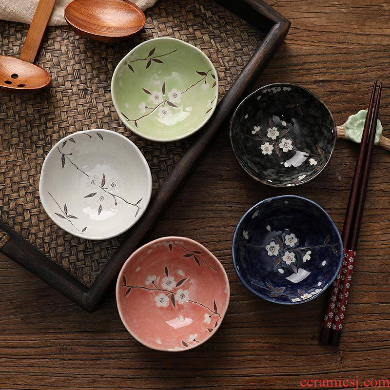 Japanese and dip dip bowl dish seasoning ceramic condiment flavour dish seasoning dishes ingredients household small butterfly plate