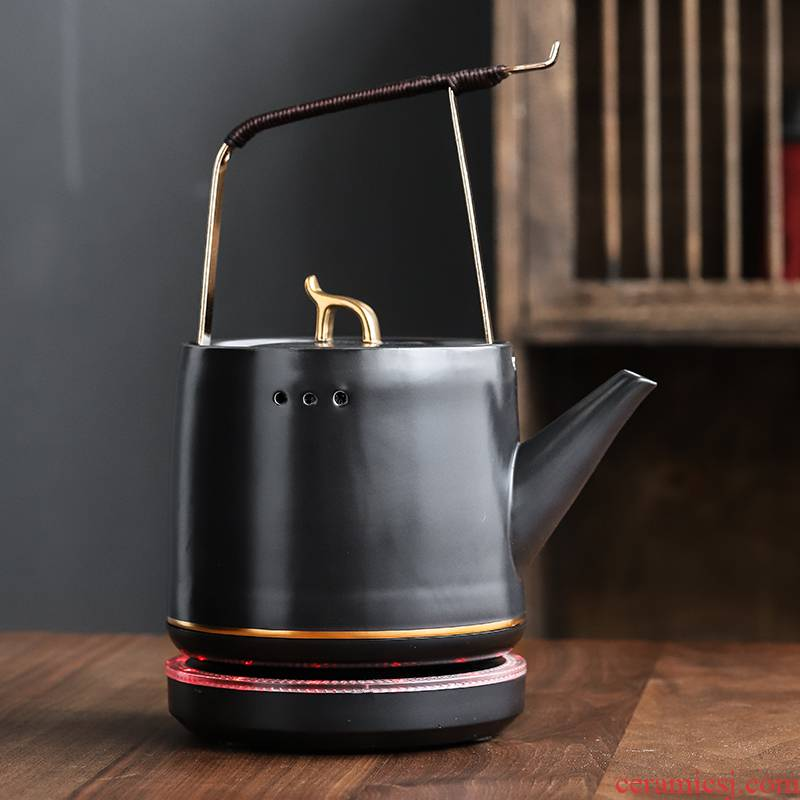 304 bladder ceramic kettle insulation pot of household boiling kettle automatically electric TaoLu tea tea of the teapot