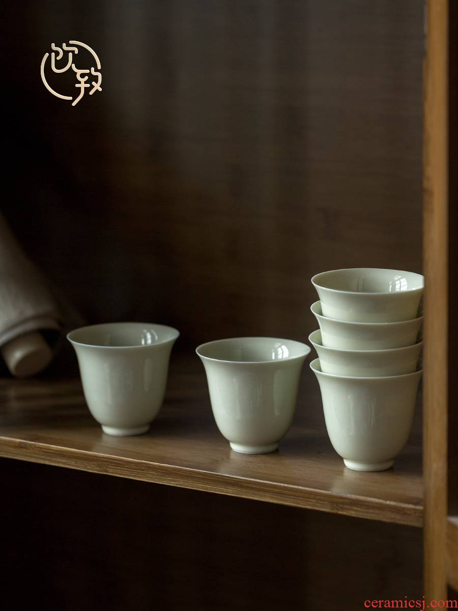 Ultimately responds to Japanese sample tea cup checking ceramic cups individual household small single CPU kung fu tea taste a cup of tea cups