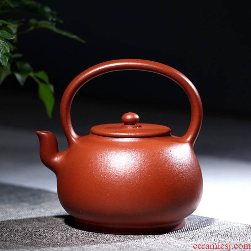 Yixing purple sand famous TaoJianChun all hand shadow enjoy 】 【 it teapot zhu mud girder 270 CCC simple but elegant