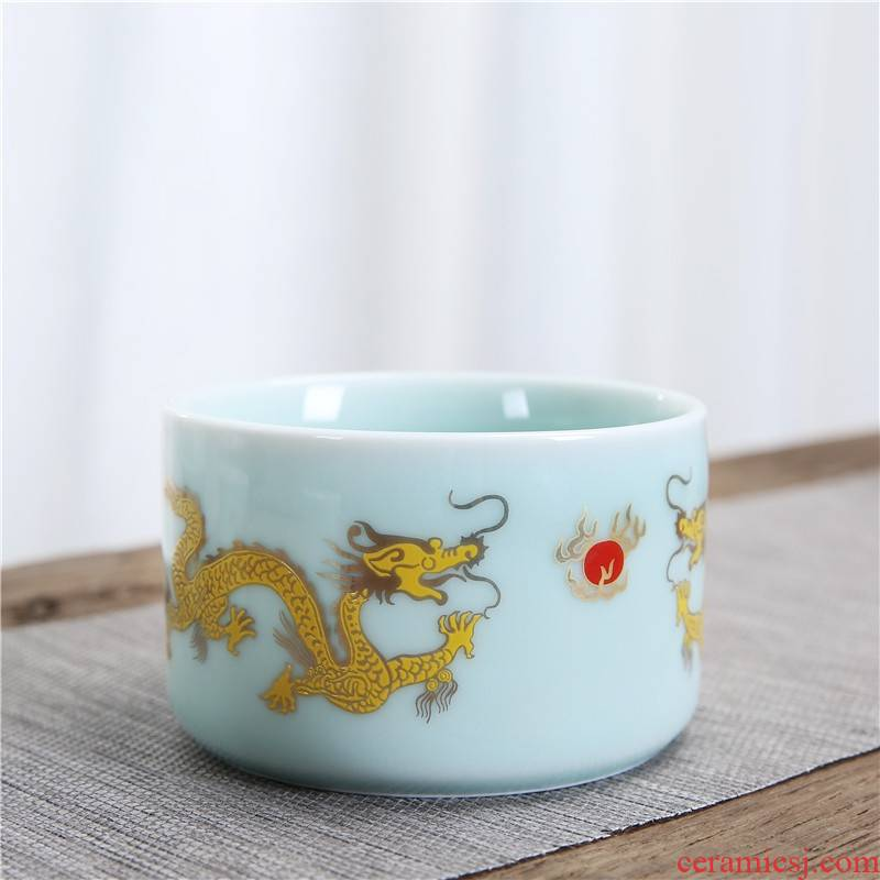 Qiao mu he its drank fittings base temperature glass based celadon he its drank heat - resistant high - temperature he its drank the pot