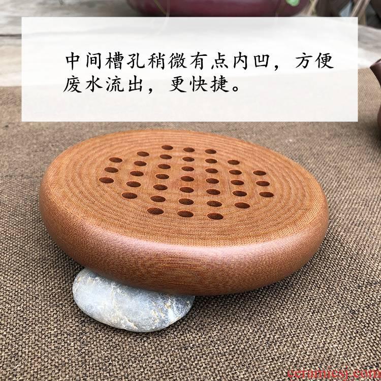 Lai pot pad are it a pot of tea on bakelite bearing saucer kung fu tea set a pot of tea tray bakelite pot pad package mail