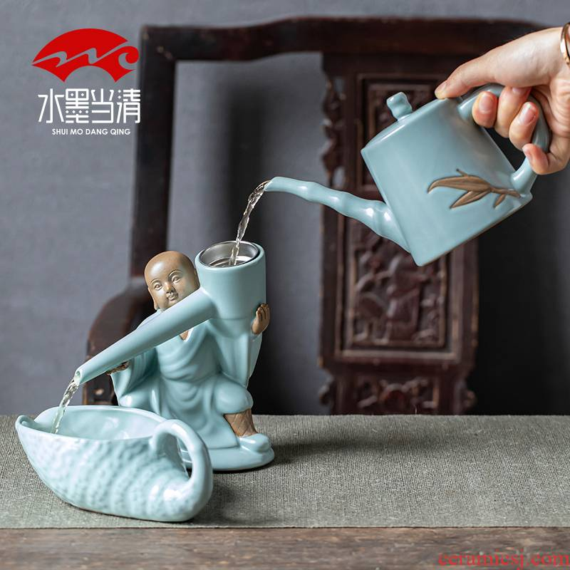 Your up household authentic tea set Your porcelain creative ceramic teapot kung fu tea cups contracted office open