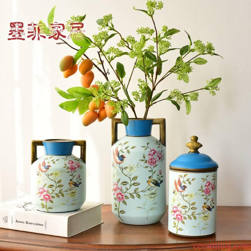 Murphy European farm ceramic vase hydroponic American country restaurant desktop soft adornment furnishing articles flower arrangement