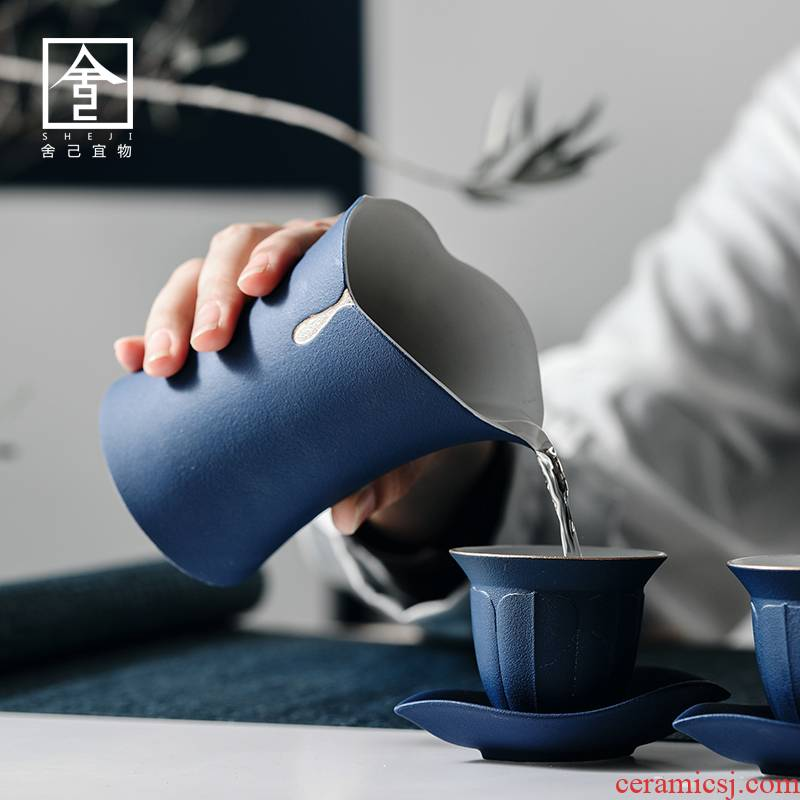 """The Self - """"appropriate content fair Japanese coarse pottery cup contracted and I pure color points and a cup of tea ware ceramics cup kung fu"""