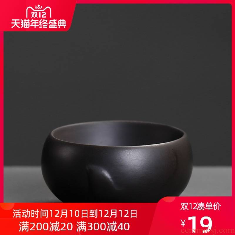 Violet arenaceous master cup move from the single restoring ancient ways yixing ceramic - not only black purple sand cup but small tea cups