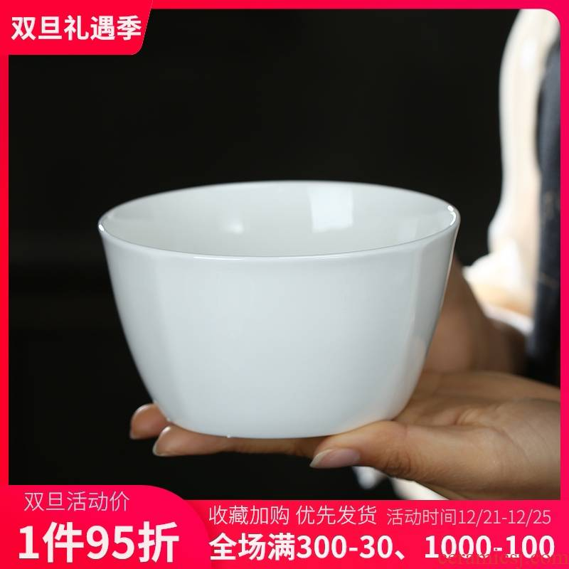 Jingdezhen porcelain rice bowls with pure white ipads ceramic bowl bowl rainbow such use creative Korean bowl bowl of tableware