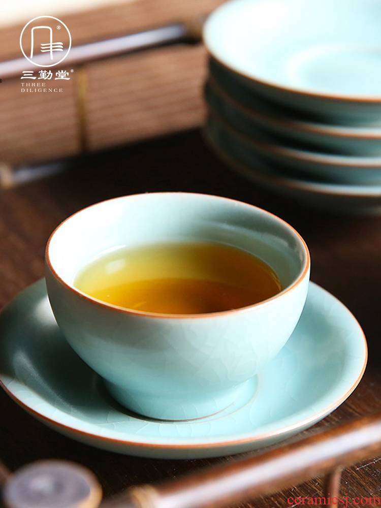 Three frequently hall kung fu tea cup your up the was suit jingdezhen ceramic sample tea cup single cup cup S44002 master