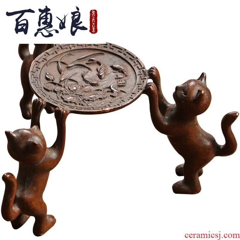 (niang pure copper cover lid doesn it buy bamboo ceramic silver iron pot of Japanese kung fu tea tea by hand
