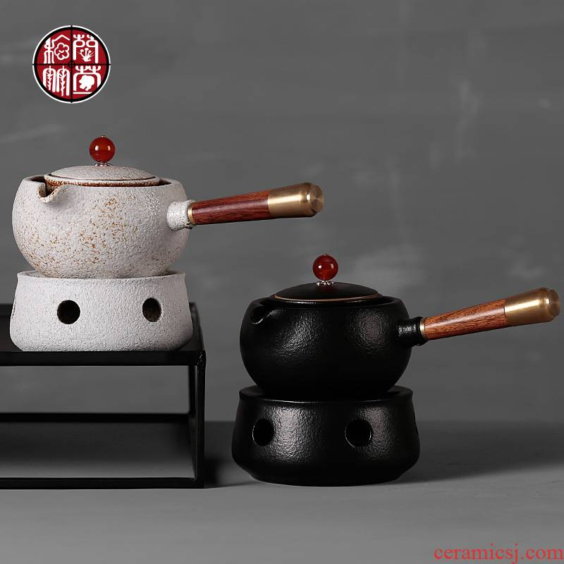 The creative side of restoring ancient ways of Chinese style cooking pot pot of tea tea ware furnace temperature coarse pottery tea kungfu tea set items