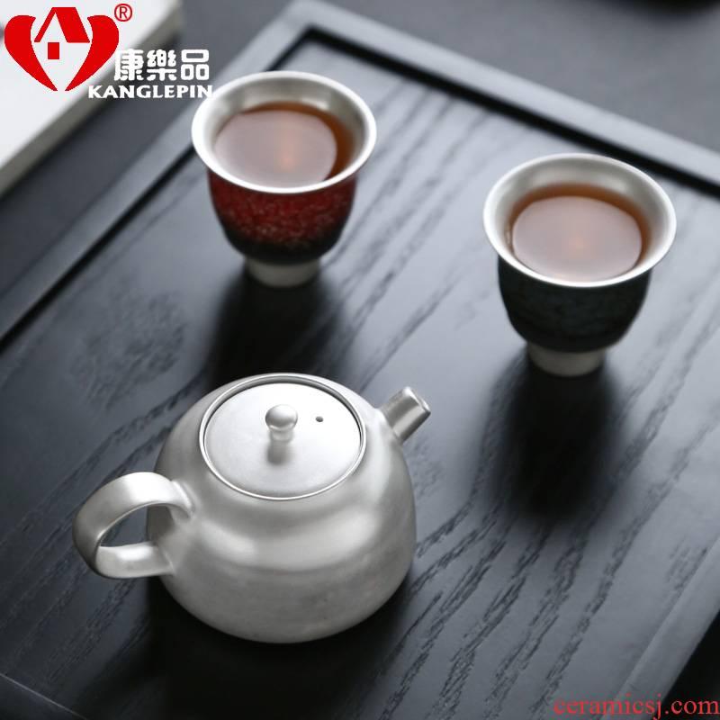 Recreational product manual silver teapot coppering. As 999 large pot teapot kung fu ceramics single pot home silver pot