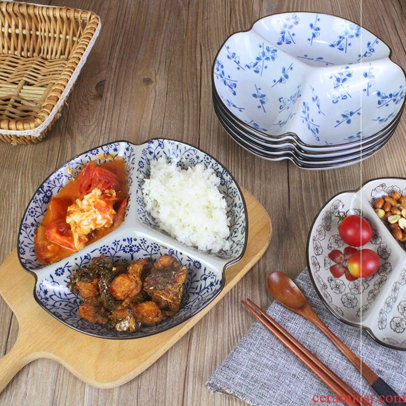 Japanese adult points, snack food, dried fruit reducing weight the fruit bowl creative household ceramic plate plate