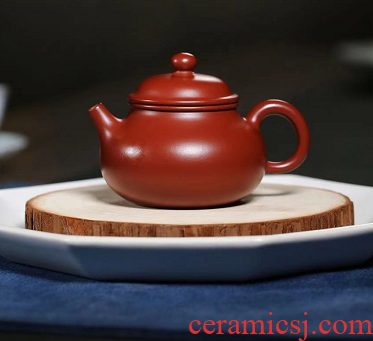 Fang Yanling small let days are it studio specialized manual dahongpao clay