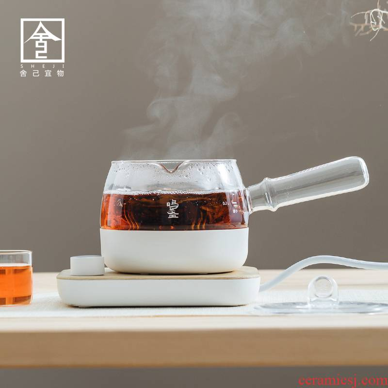 "The Self - ""appropriate content electric TaoLu boiling kettle boil tea ware web celebrity tea stove the white tea household automatic glass side"