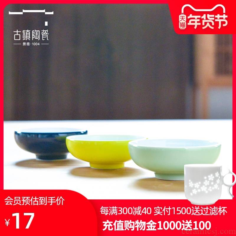 Ancient pottery and porcelain of jingdezhen household ipads plate single white porcelain tableware kitchen small butterfly ceramic disc 4 inch plate dishes taste