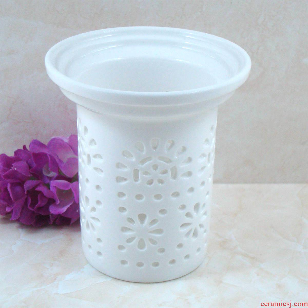 Ceramic teapot filter) tea strainer every tea net kung fu tea accessories carving flower tea filter mercifully.net