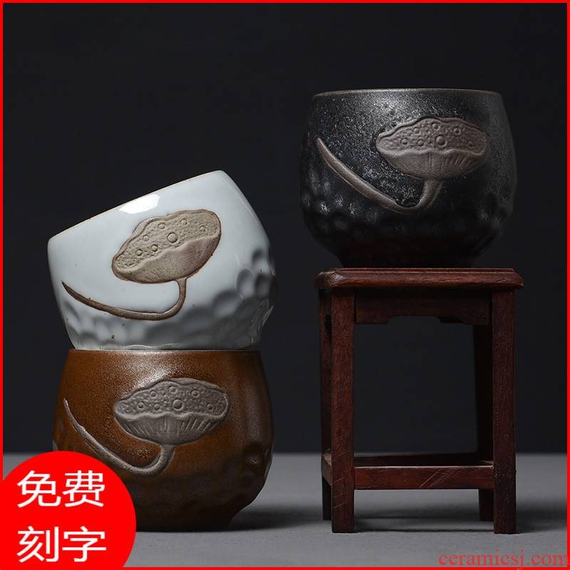 Elder brother up market metrix who cup checking ceramic coppering. As silver cup silver 99 kung fu tea tea cup sample tea cup single CPU