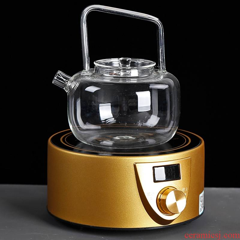 Qiao mu PMZ electric TaoLu make tea tea stove mini small household glass steam boiling water pot portable special tea