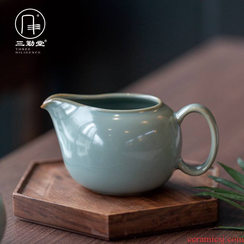 Three frequently hall handle your up jingdezhen ceramics fair keller open wide piece of kung fu tea tea accessories) points