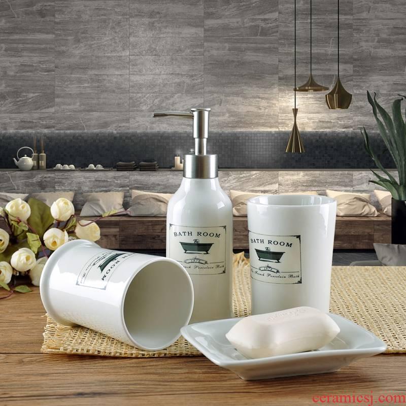 American four or five times inside toilet bathroom sanitary ware ceramic creative suite bathroom gargle for wash gargle suit
