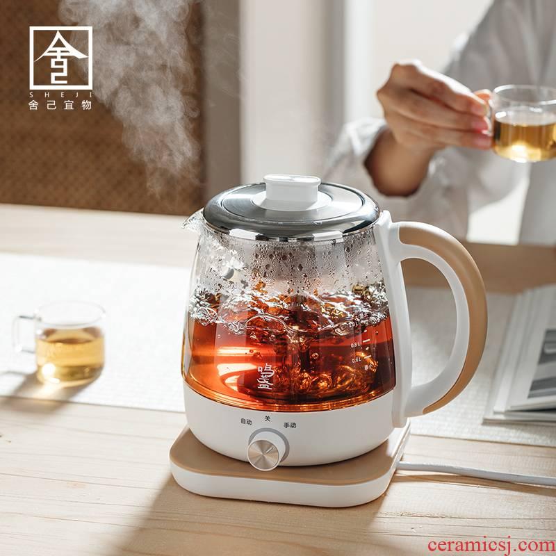 "The Self - ""appropriate content boil tea ware boiling tea stove glass teapot electric TaoLu steam household electric tea stove white tea pu - erh tea"