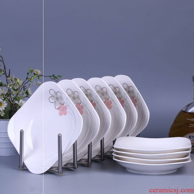 10 the microwave food dish home fruit bowl set on sale square creative ceramic plate side dish