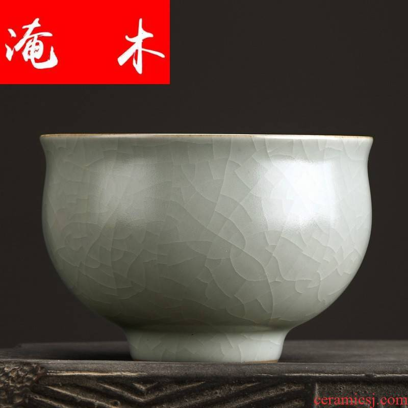 Submerged wood FengZi your up kung fu manual single cup cup cup with ceramic cups individual CPU master cup sample tea cup