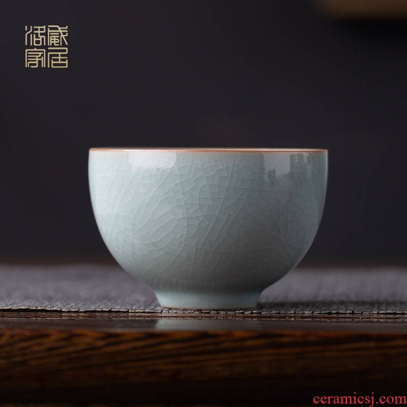 And your up sample tea cup of jingdezhen ceramic antique teacup kung fu tea set piece can raise the use master CPU