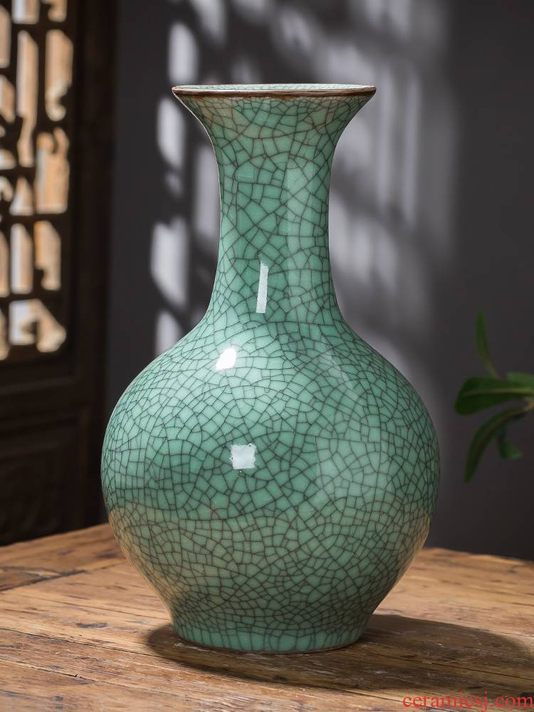 Jingdezhen ceramics up antique vases, flower arranging furnishing articles after classical Chinese style household wine sitting room adornment