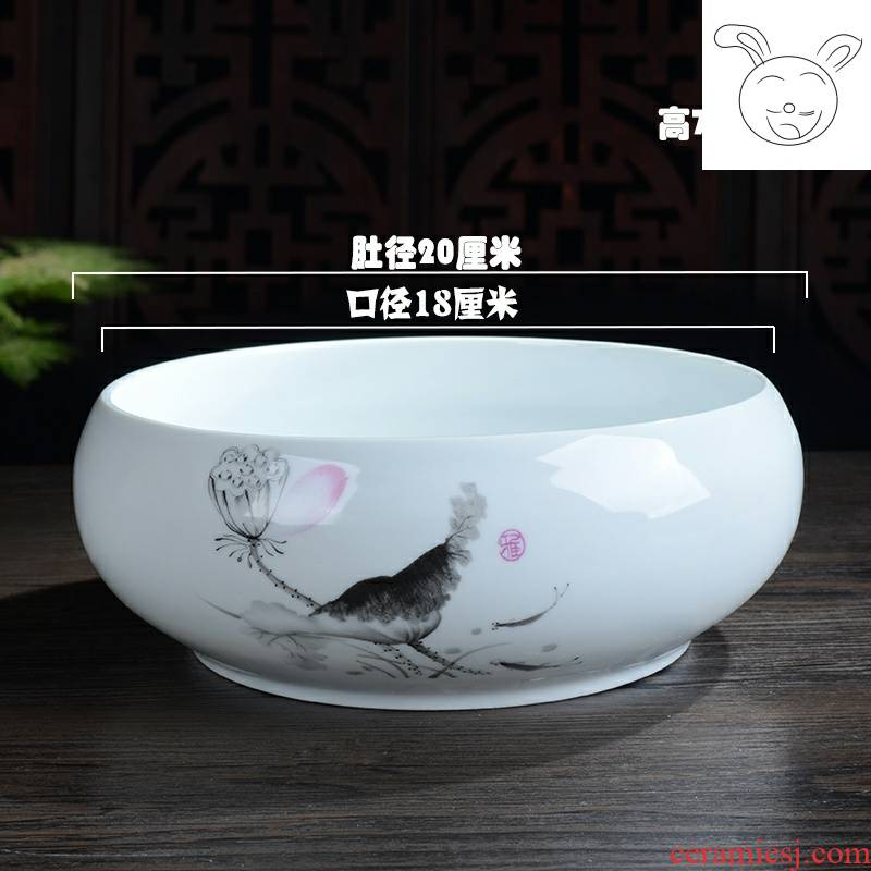 Small pot fashion bonsai dormitory restaurant interior bedroom flowerpot is simple beautiful is suing dual - use portable light