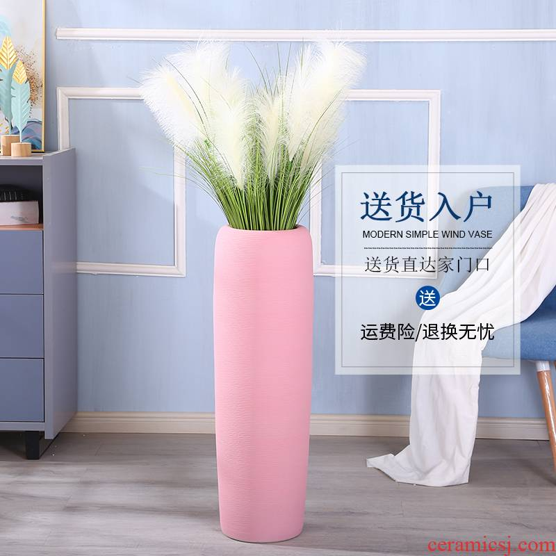 Jingdezhen modern simulation suit contracted sitting room of large vase household adornment flower arranging ins ceramic furnishing articles