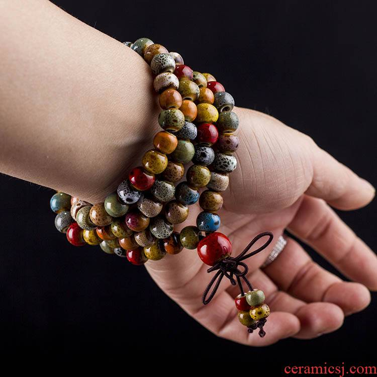 General JXC002 jingdezhen ceramics wholesale multilayer beaded bracelets for men and women
