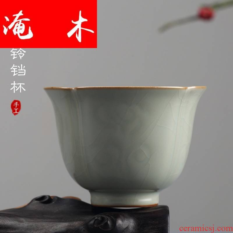Submerged wood measured your up open cups can raise the master cup of jingdezhen ceramics by hand the cup personal single cup sample tea cup