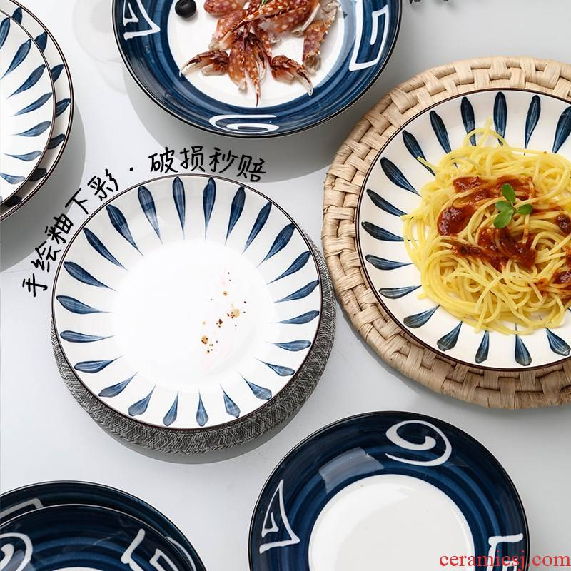 2 to 4 home dishes suit Japanese jobs creative move as ceramic tableware suit students dishes