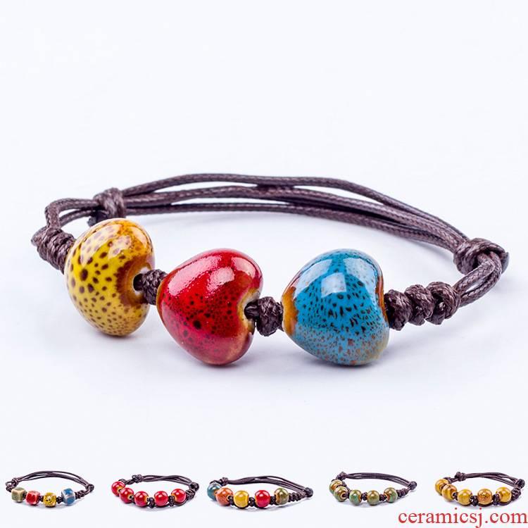 Many marketers JXB186 put stall in jingdezhen ceramic wholesale small bracelet