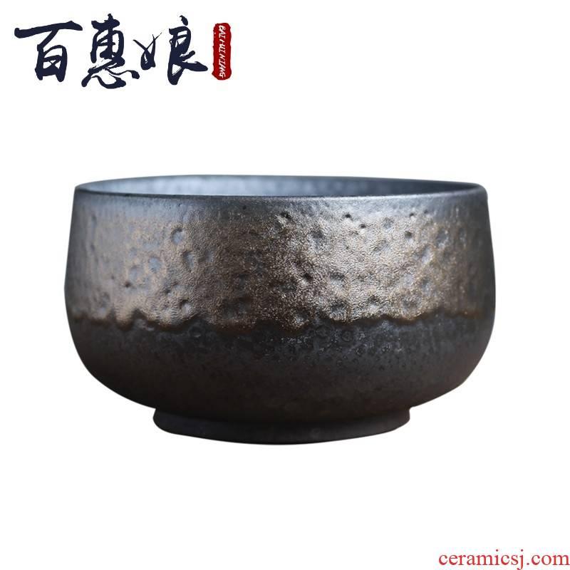 (niang gold hand wash water XiCha Japanese zen ceramic water jar to build water slag bucket retro kung fu tea tea