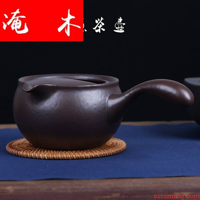 Submerged wood side put the jug electric heating curing pot boiling kettle black tea tea exchanger with the ceramics household electric TaoLu burn pot mercifully
