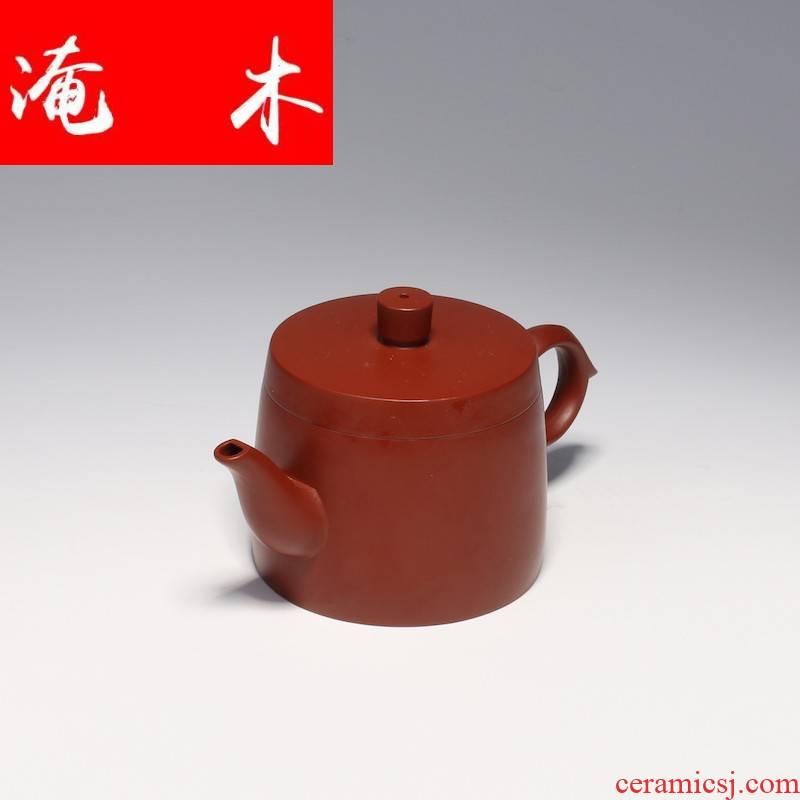 Submerged wood yixing famous tea sets are it for ore dahongpao pure manual household teapot guan - hua zhou