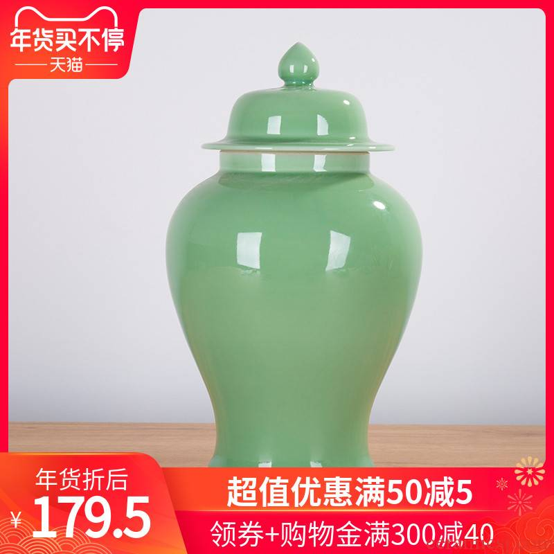 237 jingdezhen vase shadow blue glaze hand relief archaize home sitting room adornment is placed ears vase