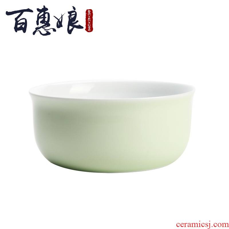 (niang tea to wash large jingdezhen ceramic celadon kung fu tea sets accessories pea green glaze tea to wash