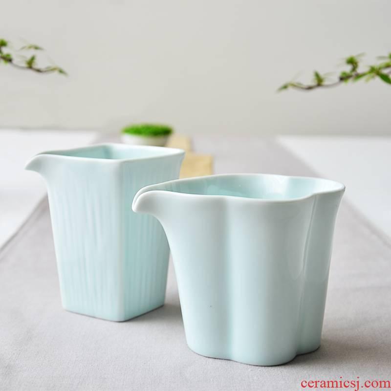 Wynn hui tea ware jingdezhen ceramic fair keller points size tea cup celadon kung fu tea accessories