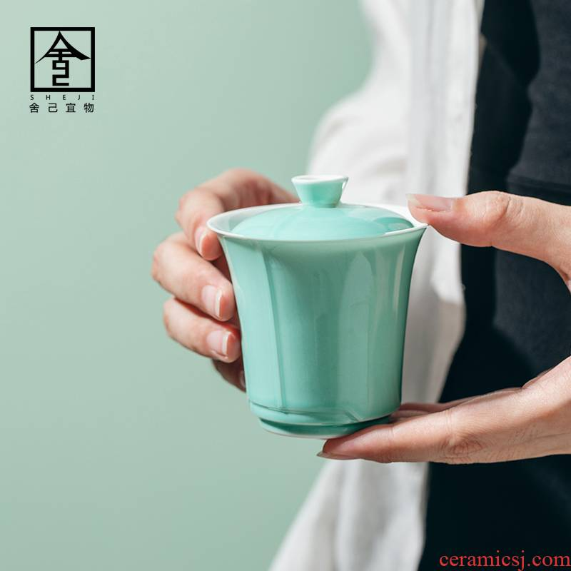 """The Self - """"appropriate content iris green household to use is not hot tea tureen jingdezhen kung fu tea set by hand"""