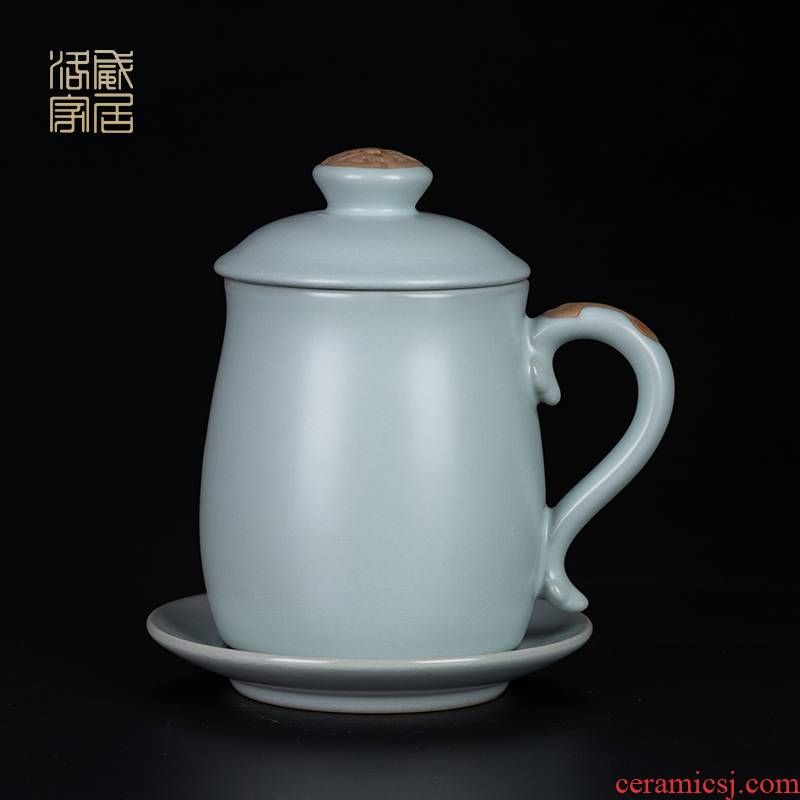, open the slice your up office glass ceramic tea set for its ehrs home office a single large capacity filter tea cup